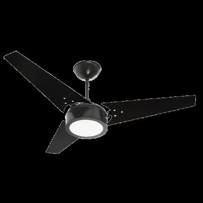 VENTILADOR IDEAL LED PLQ - PRETO